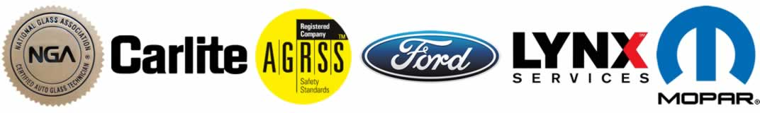 Advanced Auto Glass Certified Badges