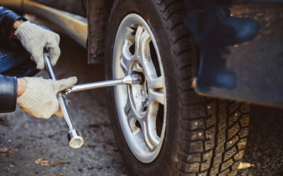 The Steps to Changing a Tire